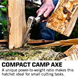 SOG Camp Axe -  Camping Axe with Sheath, Survival