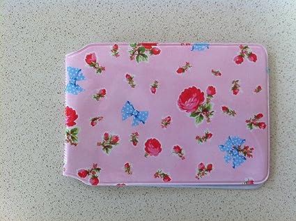 Flowers and Bows Color Rosa Flores y Lazos Tarjeta de Oyster ...