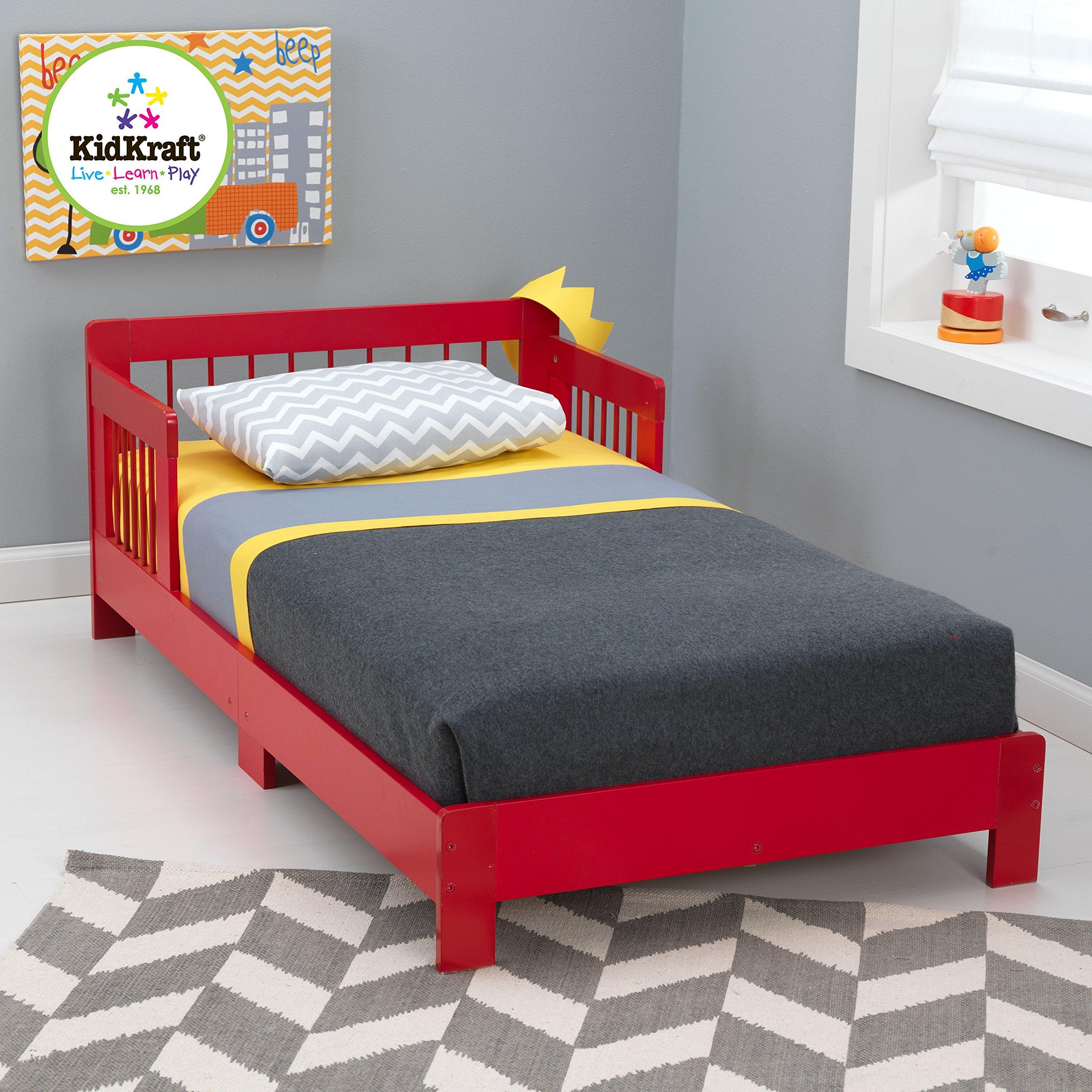 KidKraft Toddler Houston Bed, White