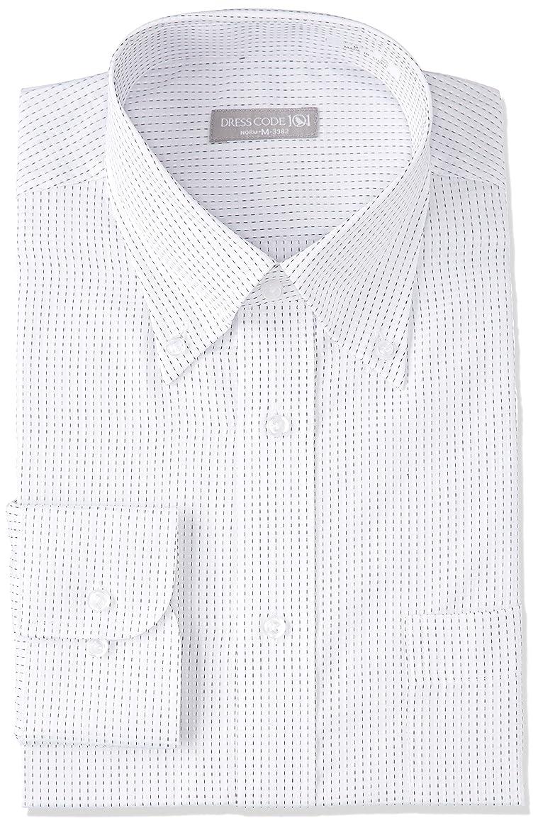 支払う投獄ポテト[ドレスコード101] 長袖ワイシャツ メンズ (形態安定 ワイシャツ) ビジネス Yシャツ SHIRT-Z