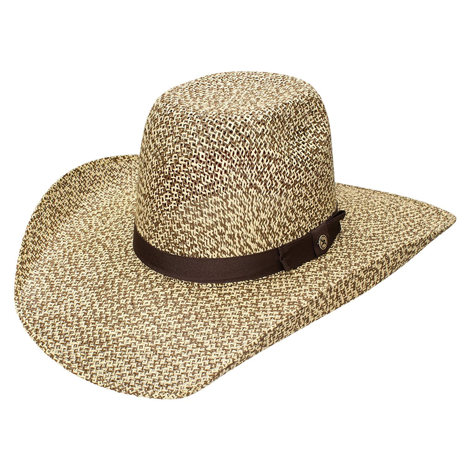 Resistol Hooey CollectionDel Rio N Straw Cowboy Hat at Amazon Men s  Clothing store  fa5265c7029