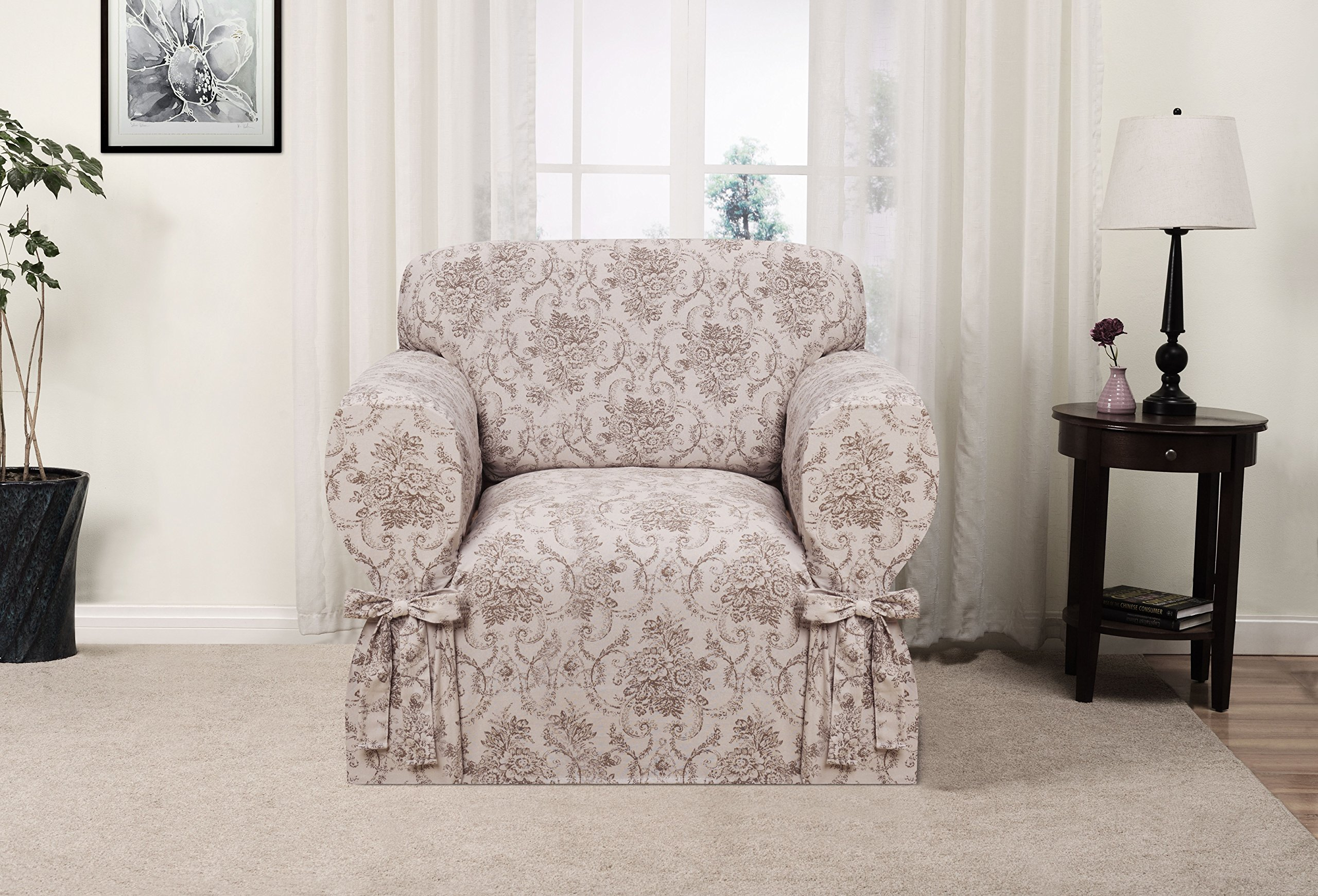 Madison Chateau Slipcover, Chair, Taupe
