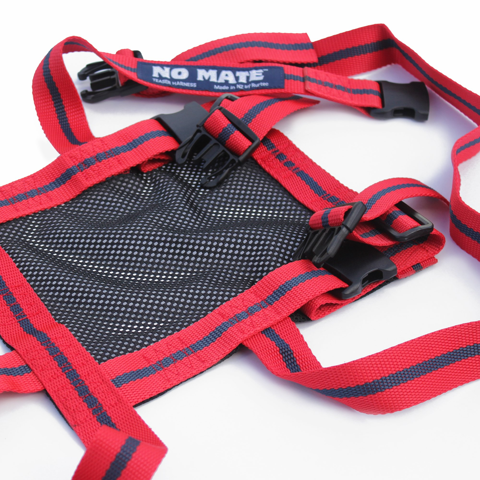 NO MATE Teaser Harness by Rurtec, Sheep & Goat Breeding Tool, Made in New Zealand - Requires a MATINGMARK Harness for use