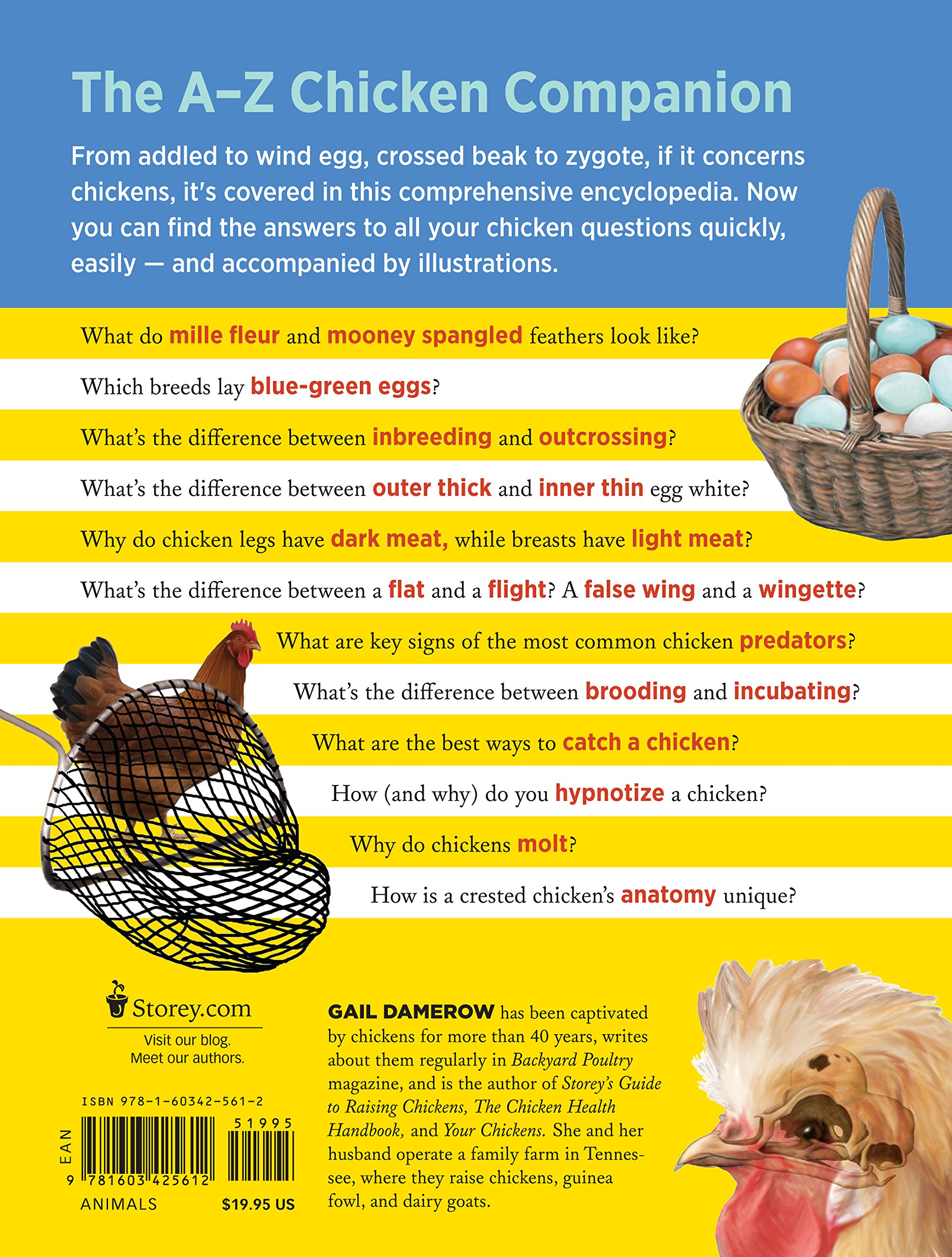 The Chicken Encyclopedia: An Illustrated Reference: Gail Damerow ...