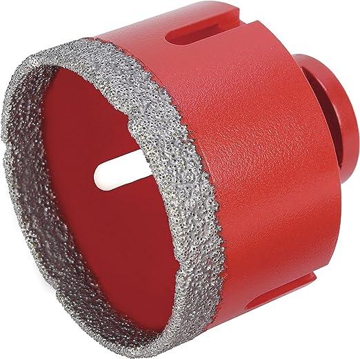 Rubi Tools 04911 Dry Cutting Diamond Drill Bit Size 2-1//2 65 mm
