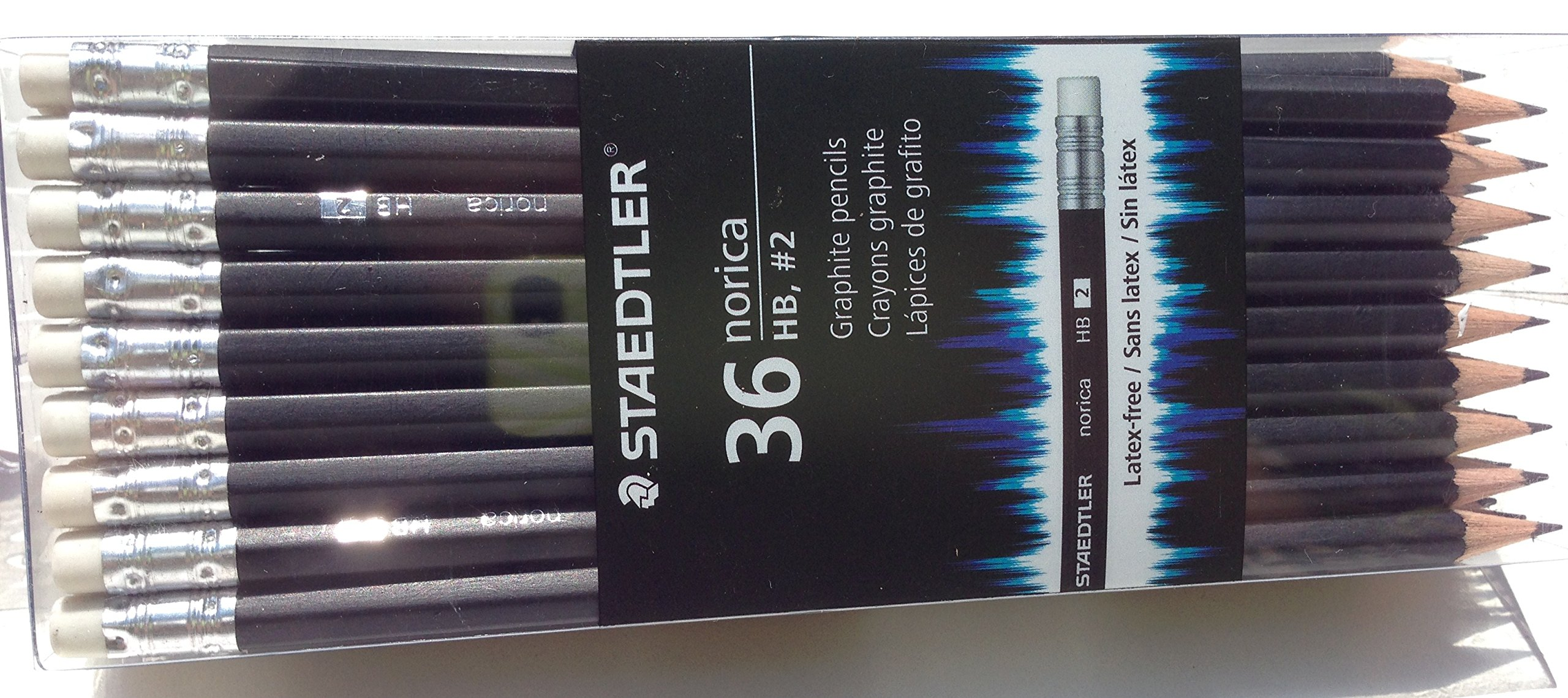 Staedtler Norica #2 HB Woodcased Pencils Black 36/Pack (1, A)