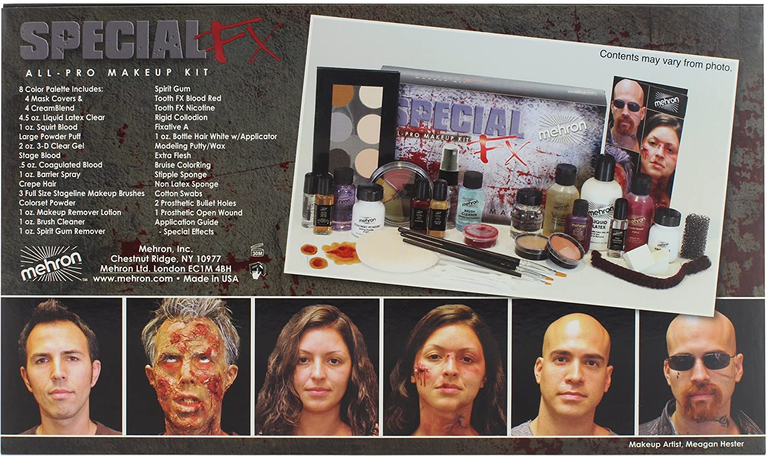 Mehron Makeup Special FX Kit
