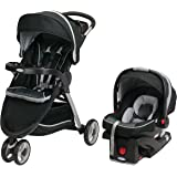 Graco Fastaction Fold Sport Click Connect Travel System Stroller, Gotham, One Size