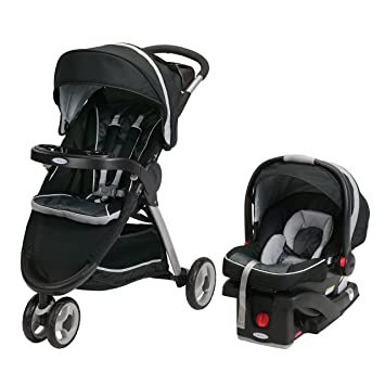29203ad76086 Amazon.com   Graco Fastaction Fold Sport Click Connect Travel System  Stroller