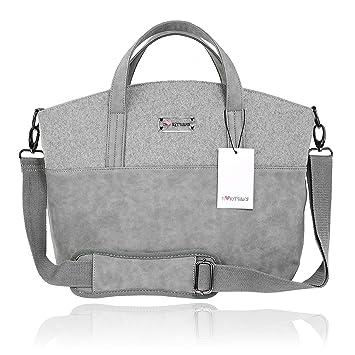 Amplio bolso cambiador para bebés con base cambiadora ...