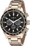 Citizen Men's CA4203-54E Sport Chronograph Analog Display Japanese Quartz Rose Gold Watch