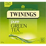 Twinings Pure Green Tea 80 Bags (packs of 4, total 320 Tea Bags)