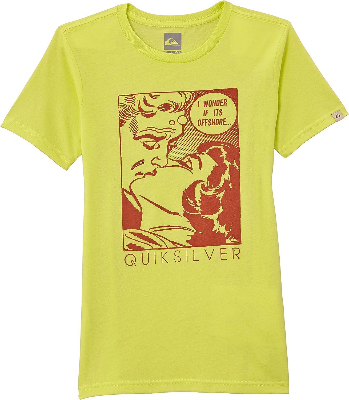 Quiksilver SS QS T YTH F18 B Camisa//Camiseta para ni/ño
