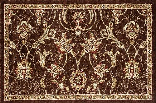 Art Carpet Hearth Rugs Collection, 2 x 3 , Brown Dark Beige