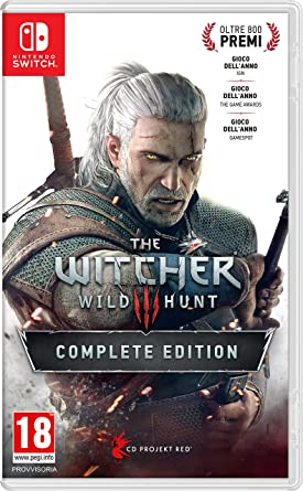 The Witcher 3: Wild Hunt – Complete Edition - Nintendo Switch ...