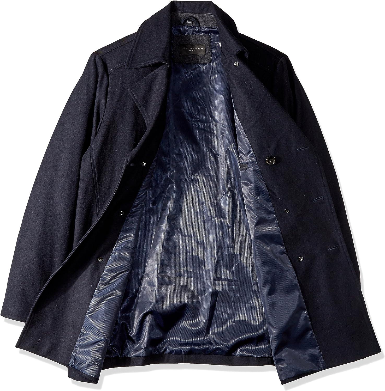 Ike Behar Mens Big and Tall Abrams Pea Coat