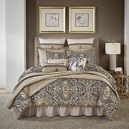 Amazon.com: K-U-P 4 Pc Multicolor, Beautiful Comforter Set ...