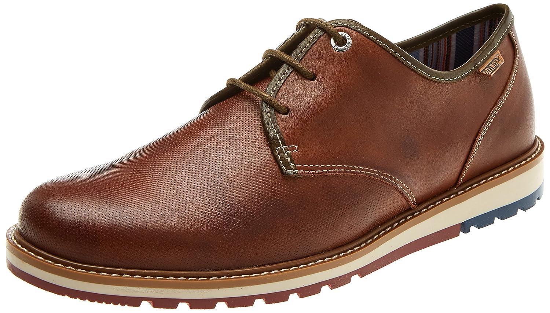 TALLA 41 EU. Pikolinos Berna M8j, Zapatos de Cordones Derby para Hombre
