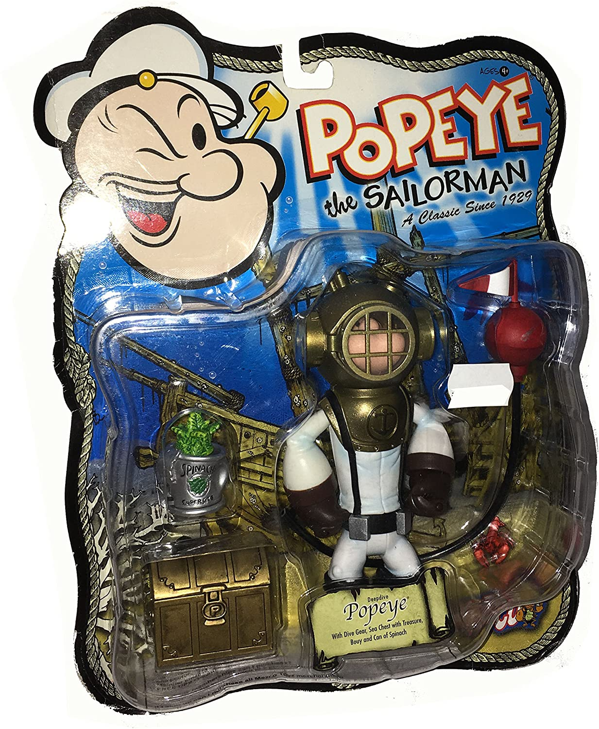 POPEYE the Sailorman Classiv TV Actionfiguren Reihe: Deepdive POPEYE