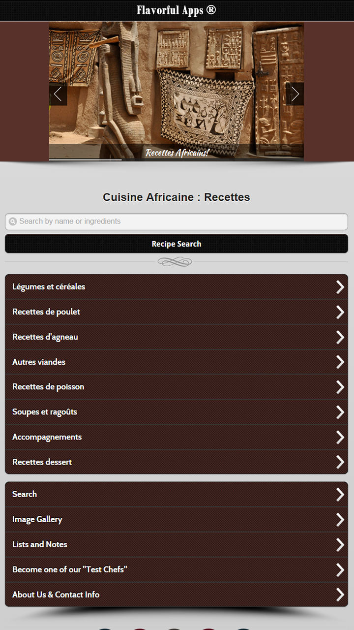 Amazon Com Cuisine Africaine Recettes Appstore For Android