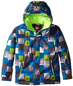 Quiksilver Mission Print Y - Chaqueta de nieve para niño, color azul, talla L/14 años: Amazon.es: Deportes y aire libre
