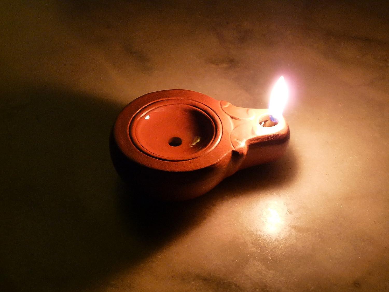 Lampe à huile romaine FLAK88