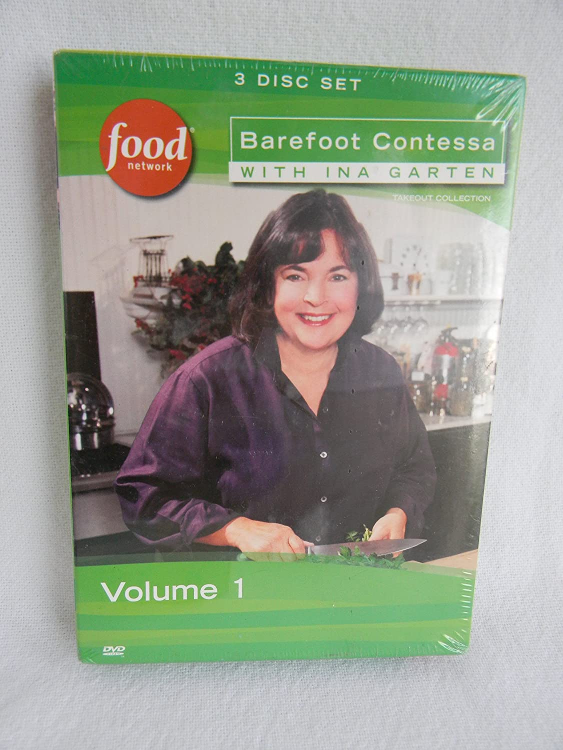 Food Network Barefoot Contessa with Ina Garten Volume 1 DVD