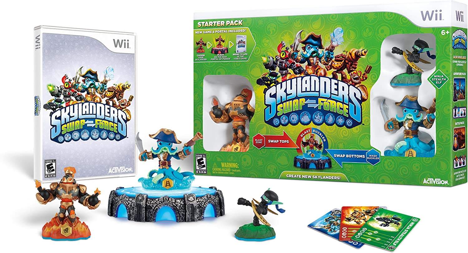Uncategorized Skylanders Swap Force.com amazon com skylanders swap force starter pack nintendo wii activision inc video games