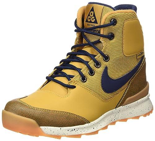 Nike Stasis ACG (GS), Zapatillas para Niños, Marrón (Haystack/Mid Navy SL Gm Yllw), 38 EU: Amazon.es: Zapatos y complementos
