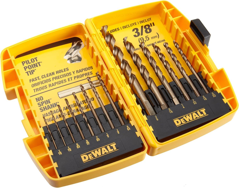 """New Dewalt Pilot Point DD5114 Titanium Impact Drill Bit 7//32/"""" Lot of 5"""