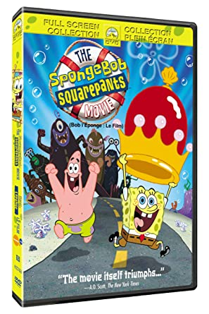 amazon com spongebob squarepants the movie full screen movies tv