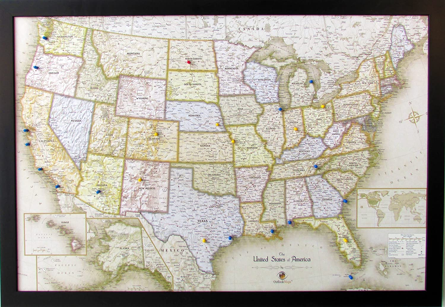 Homemagnetics HM3322USAM Magnetic USA Map, 33 X 22 on clickable map of usa, electronic map of usa, geophysical map of usa, grid map of usa, yello map of usa, seismic map of usa, digital map of usa, geological map of usa, color coded map of usa, wooden map of usa, barometric pressure map of usa, topographic map of usa, movable map of usa,