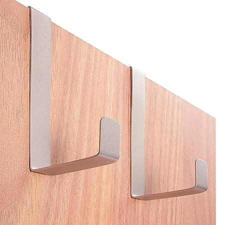 4smile Over Door Hooks Porta Xxl Galvanized Steel 10 Pcs Made