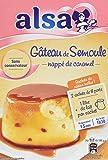 Alsa Gateau de Semoule de mon enfance nappé au Caramel 2 sachets de 8 parts - Lot de 7