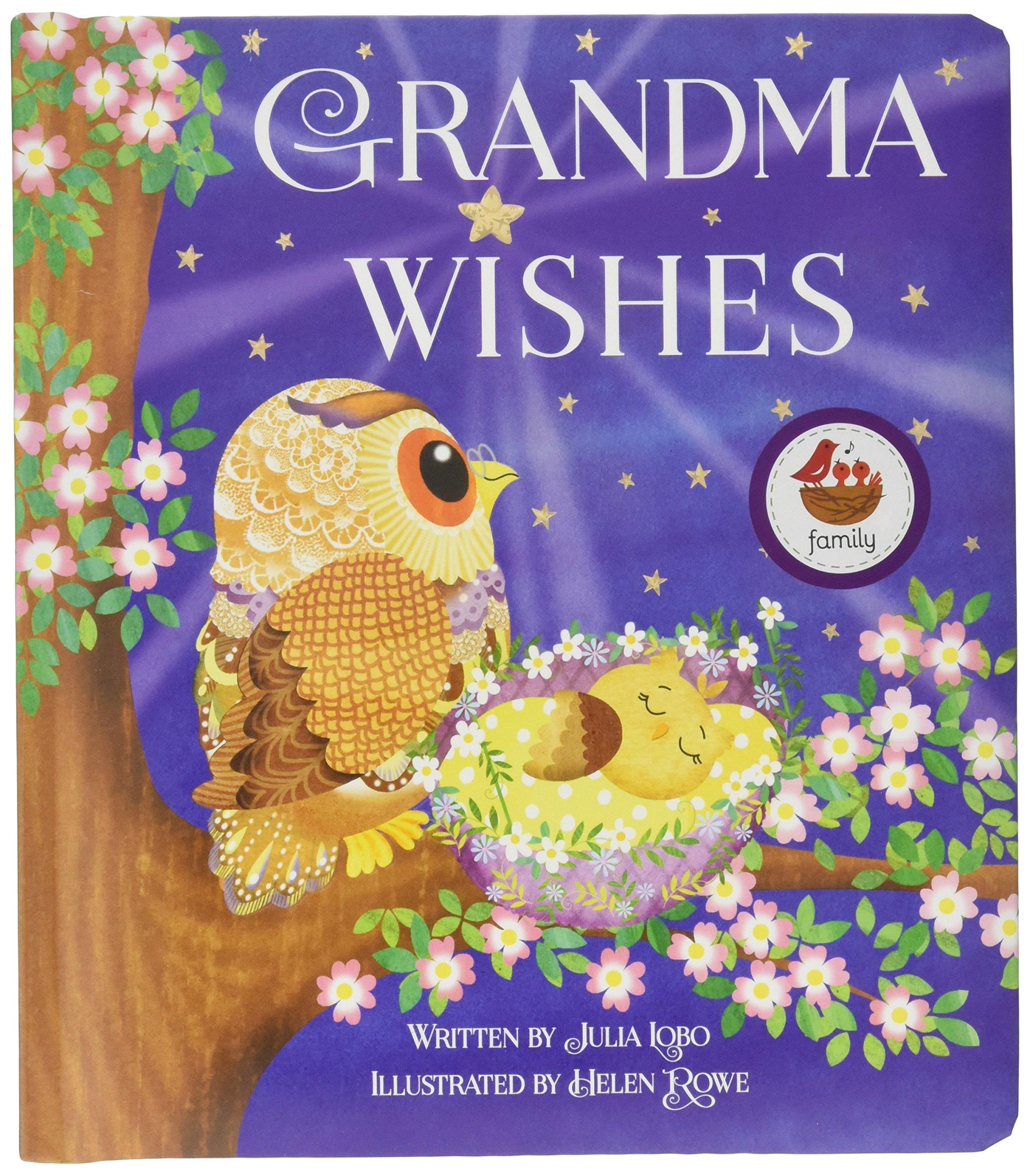 Grandma Wishes Childrens Board Book Love You Always Julia Lobo