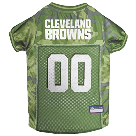 56e68fac NFL CAMO Jersey for Dogs & Cats. Football Dog Jersey Camouflage Available  in 32 NFL Teams & 5 Sizes. Cuttest Hunting Dog Dress! Camouflage Pet Jersey  with ...