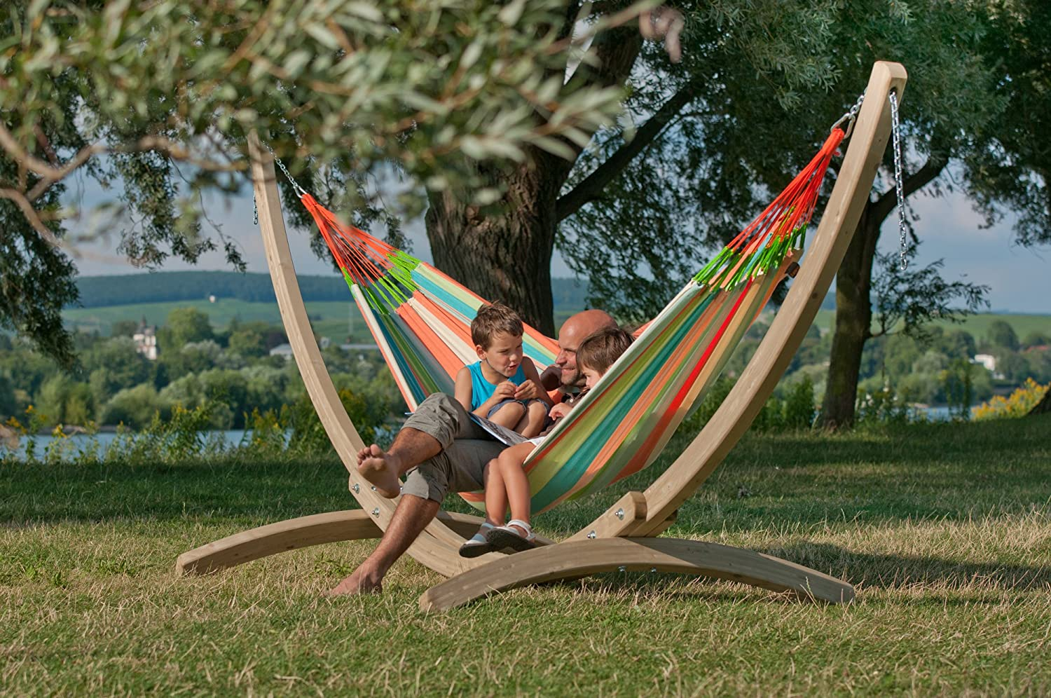 Amazon.com : LA SIESTA Domingo Coral - Weather-Resistant Kingsize Classic  Hammock : Patio, Lawn & Garden - Amazon.com : LA SIESTA Domingo Coral - Weather-Resistant Kingsize