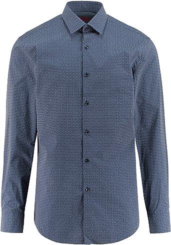 Hugo Boss 50391320 - Camisa para hombre, diseño con logotipo ...