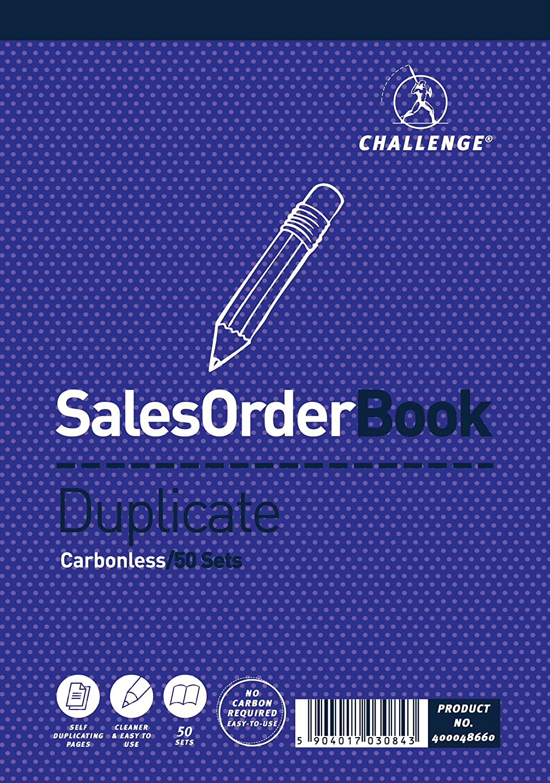 Challenge - Blocco di carta autocopiante per vendite e ordini, 5 pezzi Hamelin 400048660