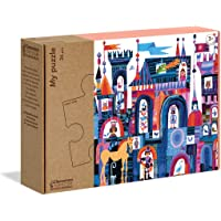 Clementoni - 16218TR - Play For Future - My Puzzle - Şato, eğitici oyuncak
