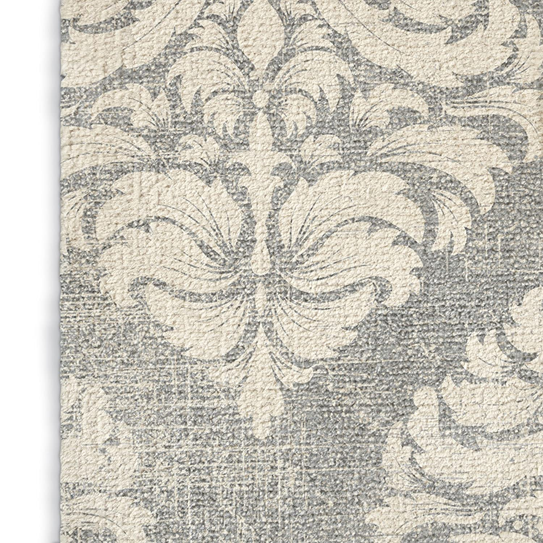 KAVKA Designs Cartagena Area Rug, Size: 3x5x.5 - - TELAVC1428RUG35 Grey