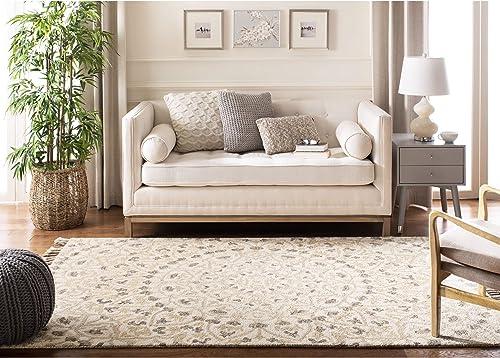 Safavieh Blossom Collection BLM459A Handmade Tassel Premium Wool Area Rug