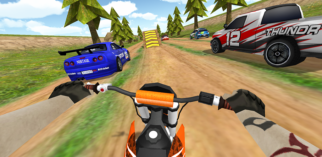 Dirt Bike Rally Racing Turbo Offroad Motorcycle Games