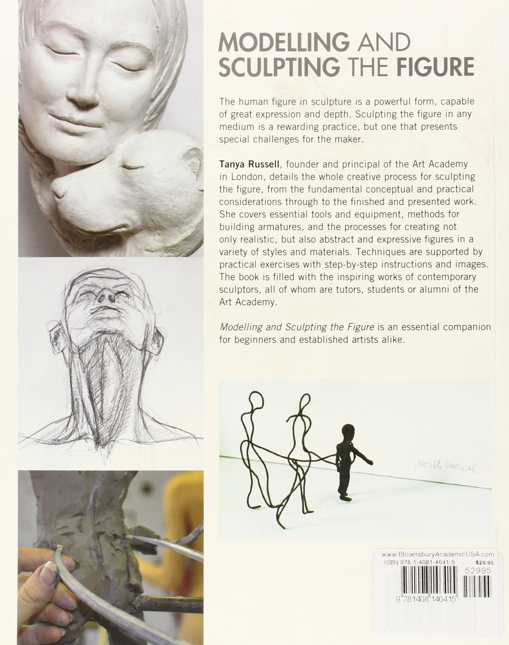 Modelling and Sculpting the Figure: Amazon.co.uk: Tanya Russell:  9781408146415: Books