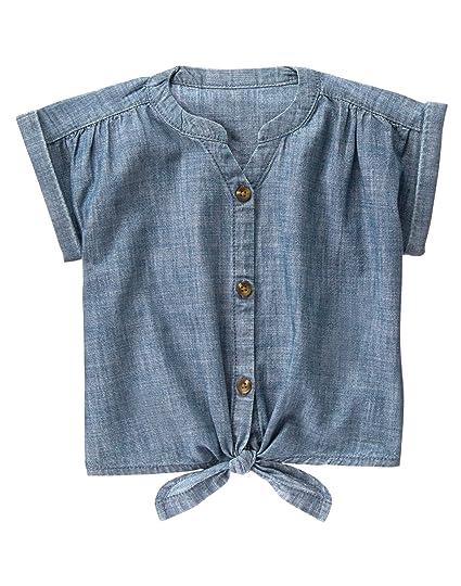 Crazy 8 Girls Little Woven Tie Short