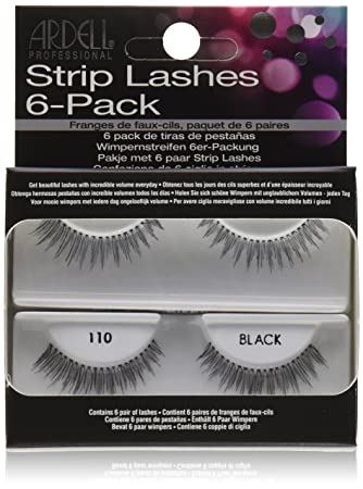 e0c5f1a73bd Amazon.com : Ardell Natural Lashes, 110 Black : Fake Eyelashes And ...