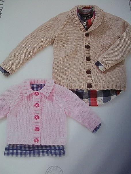 Sirdar Hayfield Baby Aran Knitting Pattern 4499 Boys Girls