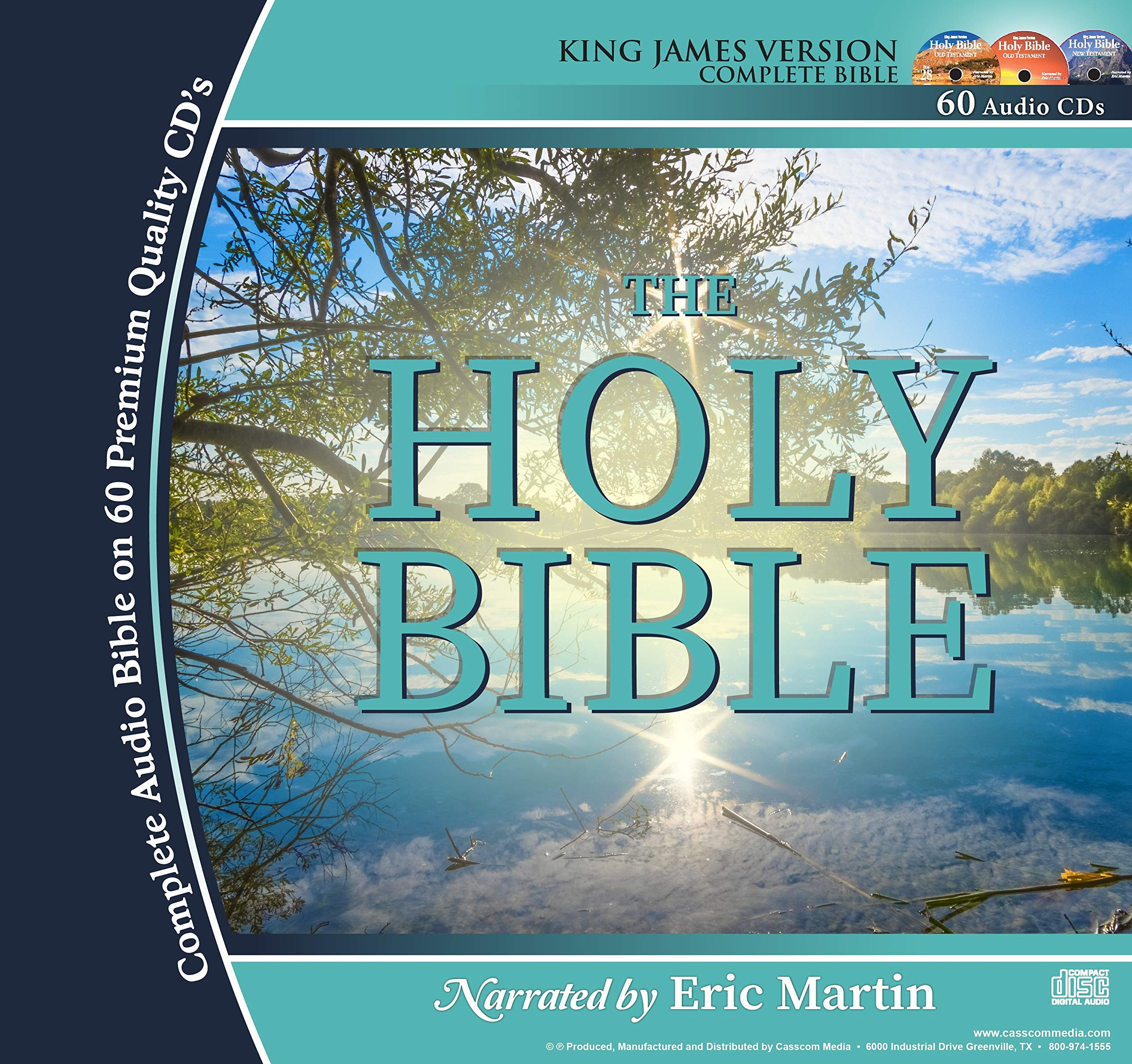 2 Complete King James Version Audio Bibles in one Product! -60 CD