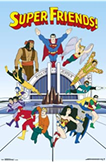 Trends International The Justice League Of America Super Friends Assorted Team Wall Poster 22375 X