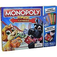 Monopoly- Junior Electronico (Hasbro E1842105)